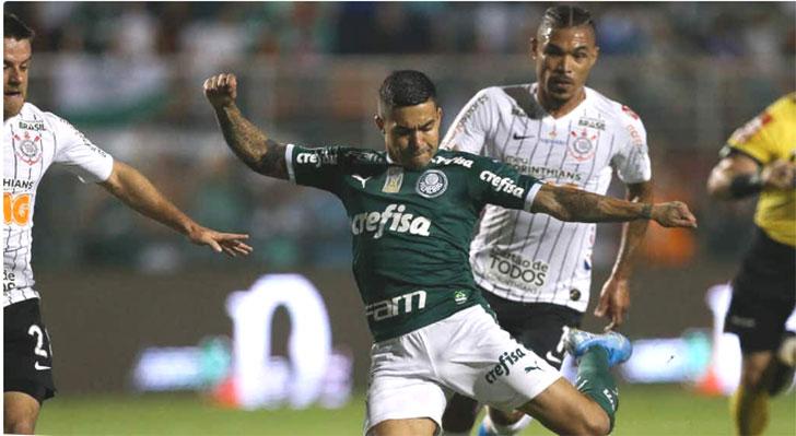 Empate aumenta série invicta do Palmeiras com mando no Brasileiro